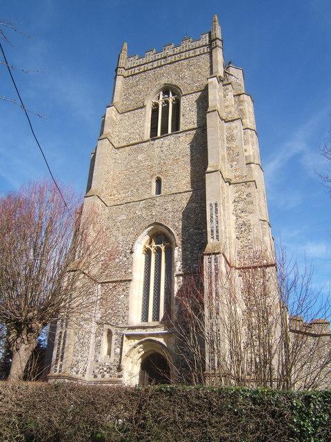 Tower of St Peter's Church, Monks Eleigh