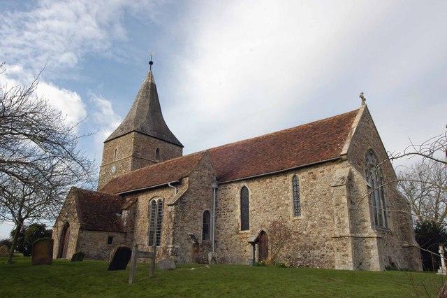 The Church of St. Mary in the Marsh, Romney Marsh, Kent
