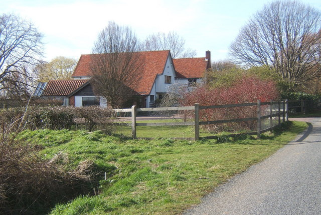 House at Monks Eleigh Tye
