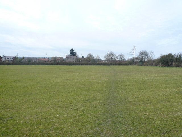 Oakerthorpe - Footpath view across Field
