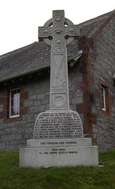 Kirkgunzeon War Memorial