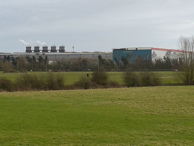 View of Llanwern Steelworks