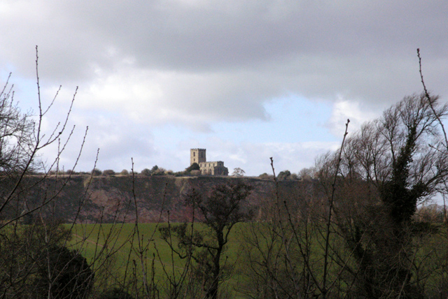 Breedon Church from the A42