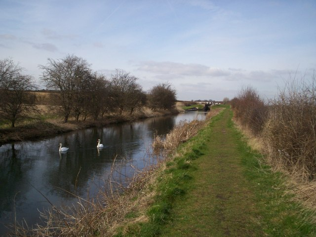 Forest Bottom Lock on the Chesterfield Canal