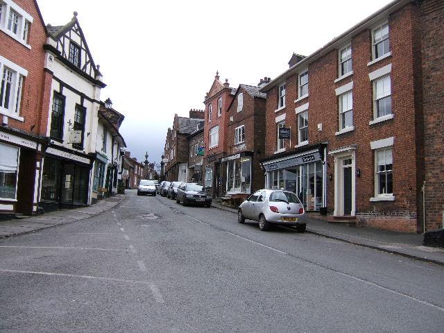Church Street, Malpas