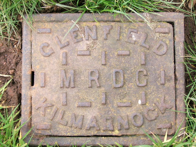 Cast Iron Cover, Motte, Malpas