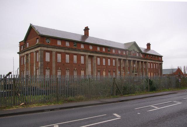 The Shorts Building, Cardington airfield