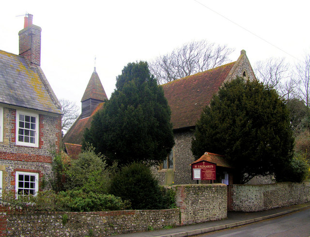 St Leonard's Church, Denton, Newhaven