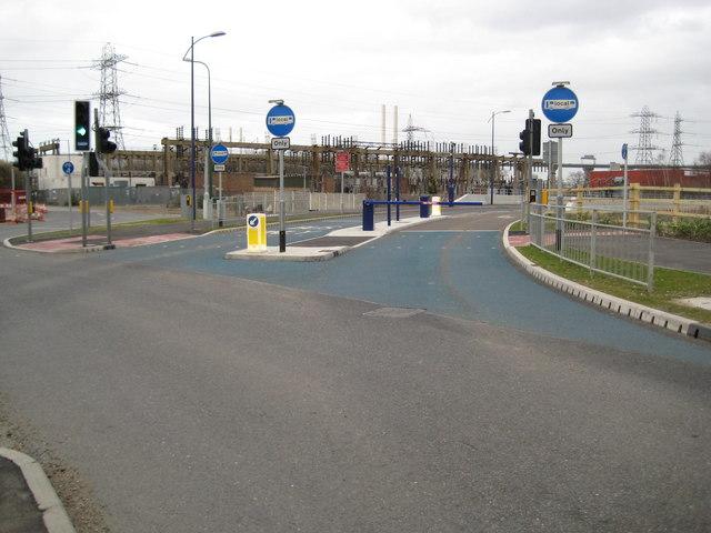 Dartford: Fastrack busway