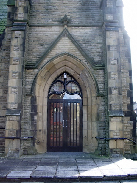 Church Road Methodist Church, St Annes-on-Sea, Doorway