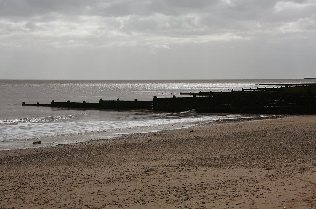 Groynes at the Naze