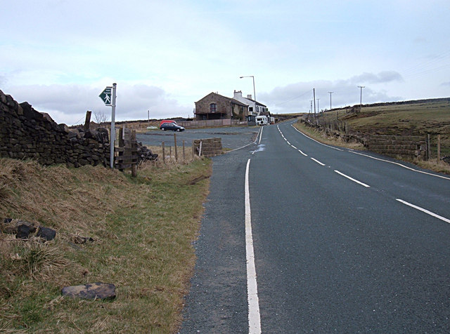 Approaching the Sportsmans Arms