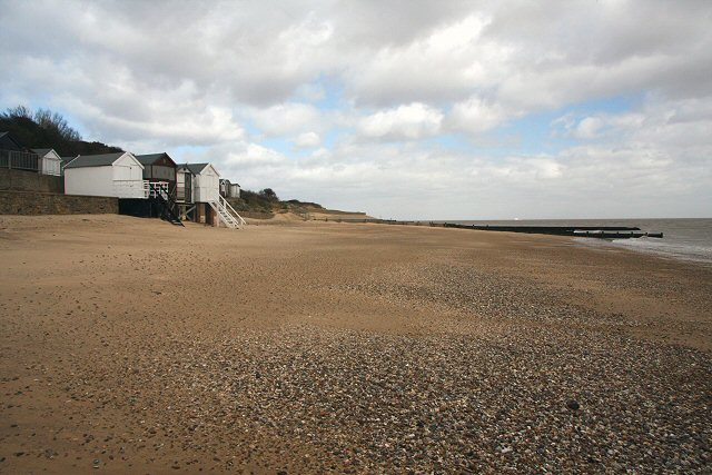 Beach at Walton-on-the-Naze