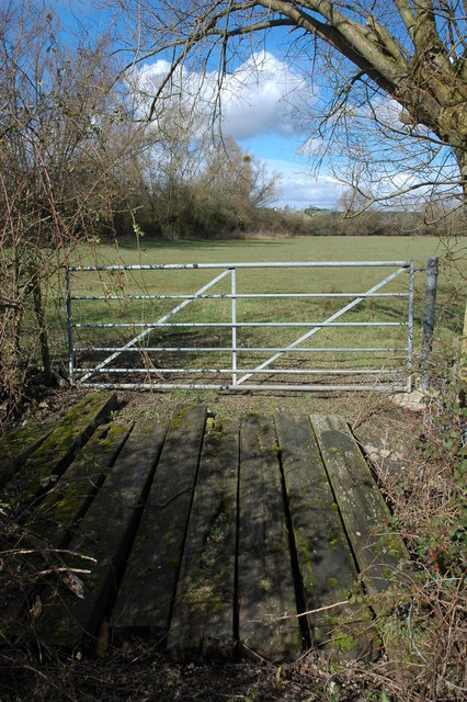 Gate on Longdon Marsh