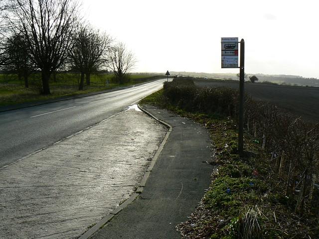 Bus stop, Burderop