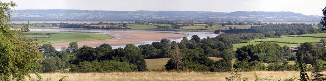 River Severn from Culver House barns