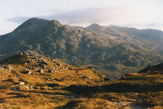 View south from Coire an Laoigh