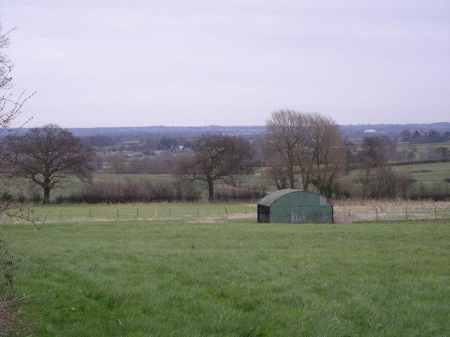 Across the fields from Nedge Hill