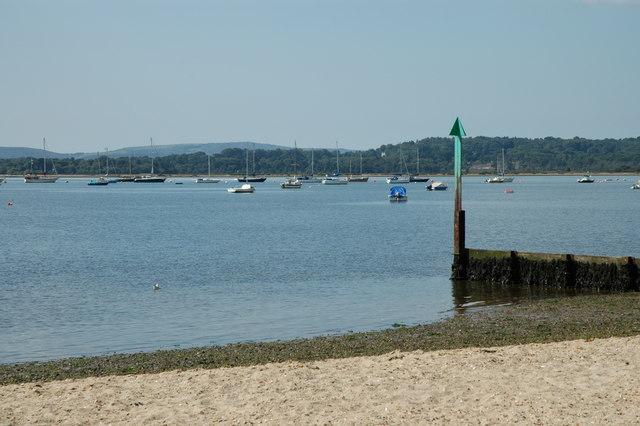 Poole Harbour at Hamworthy