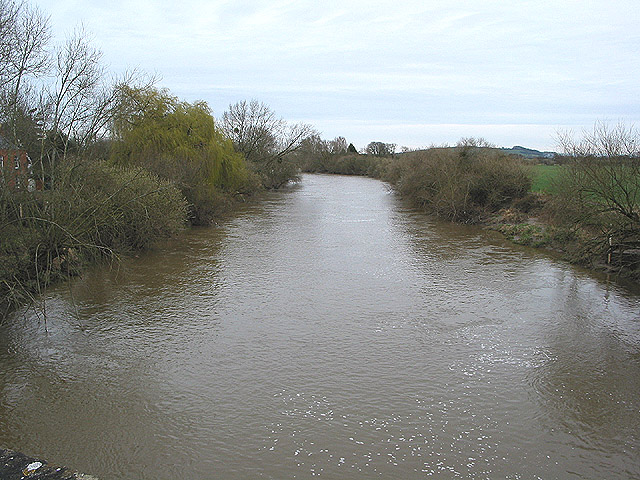 River Severn, upstream from Maisemore Bridge