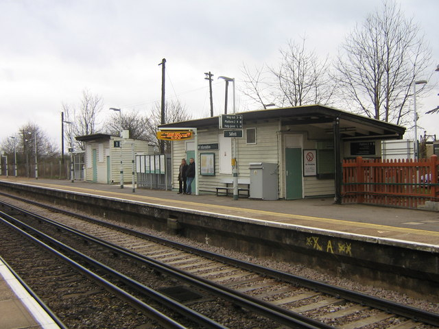 Salfords Station