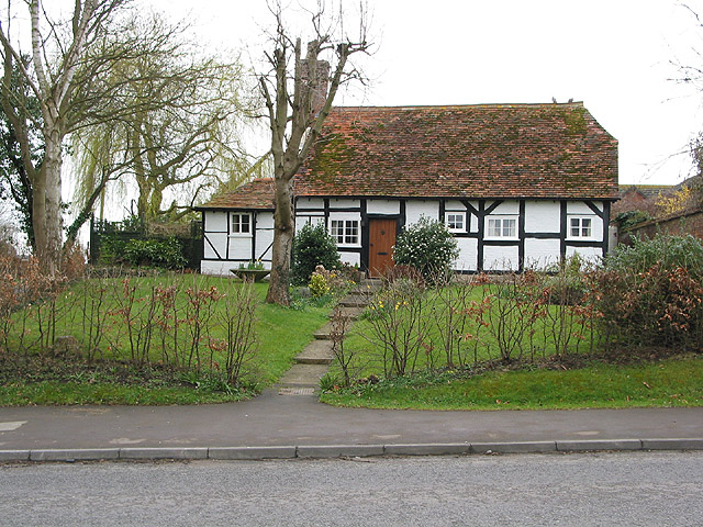 Timbered cottage, Maisemore