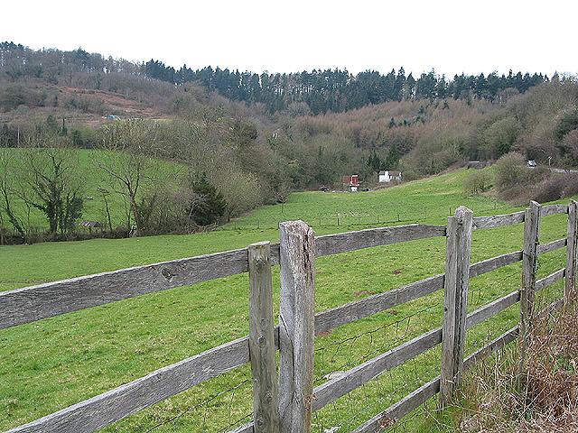 Valley below Huntley Hill