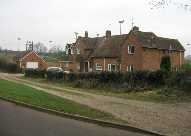 Cottages by the running track