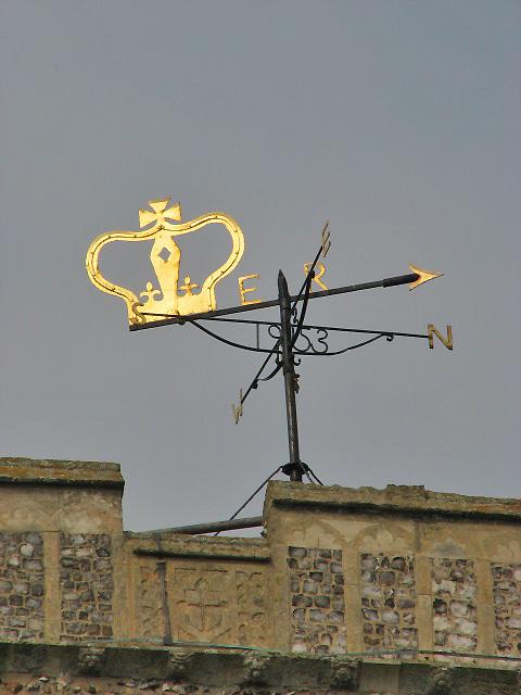 St Helen's church - weather vane