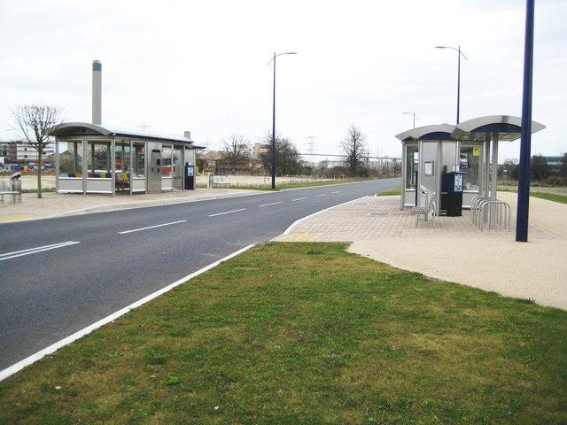 Dartford: Fastrack busway shelters