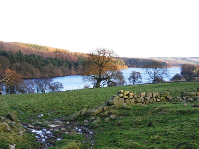 Fewston Reservoir in early winter