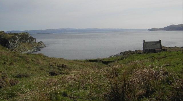 Bagh Gleann a'Mhaoil bay