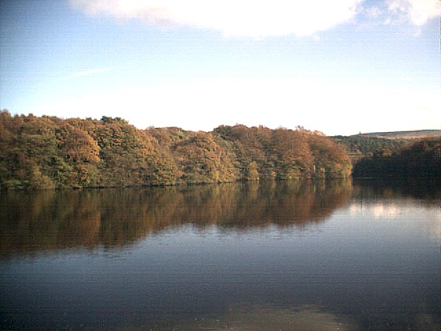 Roddlesworth reservoir Autumn 2004