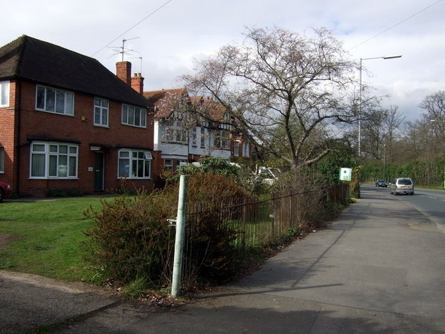 Houses in Shinfield Road