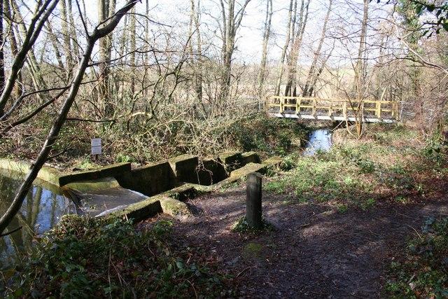 Weir & footbridge