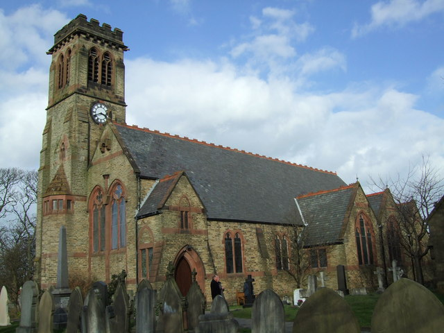 St John's church, Crossens, Southport