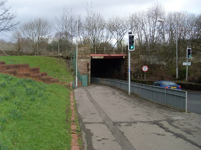 Railway bridge at Kirkwood train station