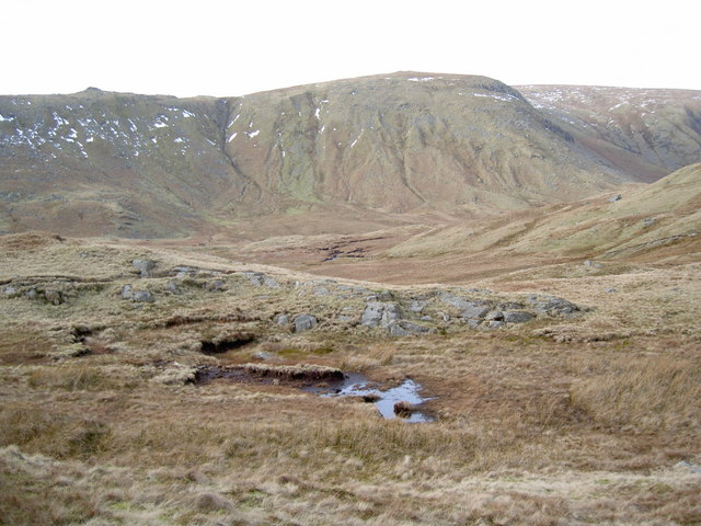 Across Brownrigg Moss towards Middle How