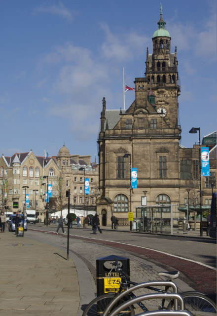 Pinstone Street, Sheffield