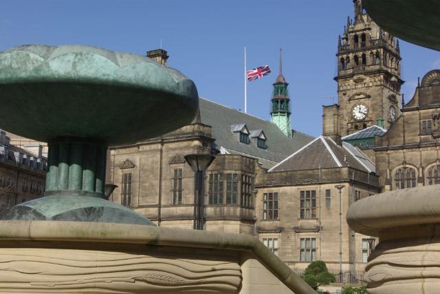 Peace Gardens, Sheffield