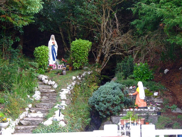 Grotto at Rossmore, Inchigeelagh, Co.Cork