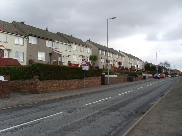 Flats on Kirkshaws Road, Coatbridge