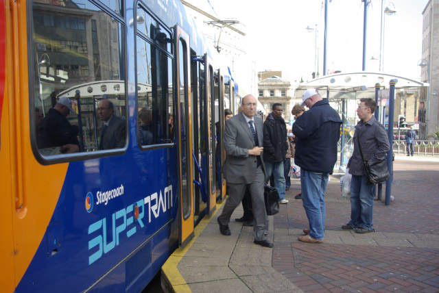 Castle Square Tram Stop, Sheffield