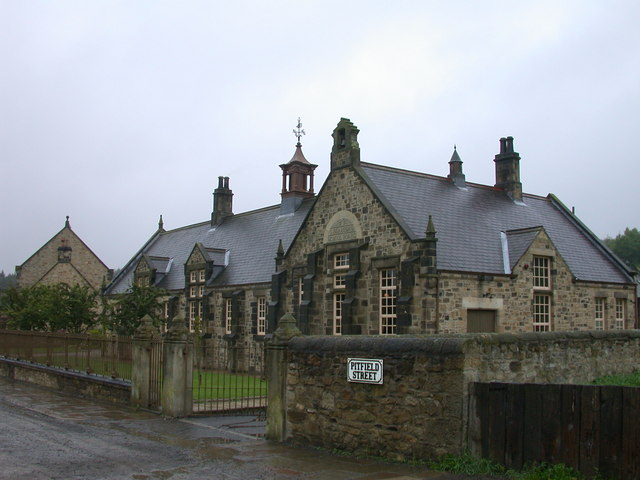 Beamish Colliery Village school