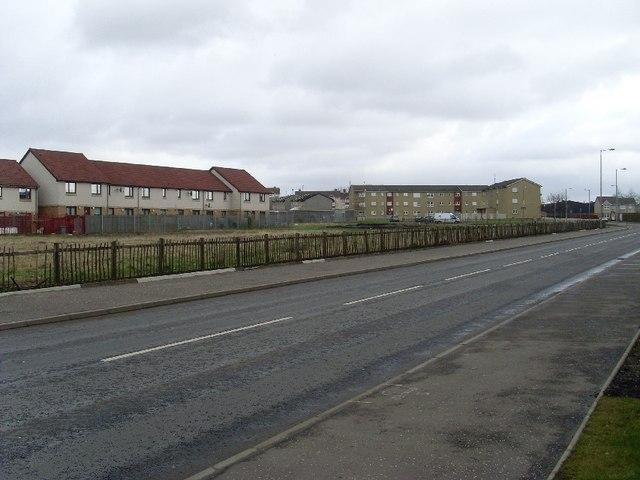 Waste ground off Kirkshaws Road