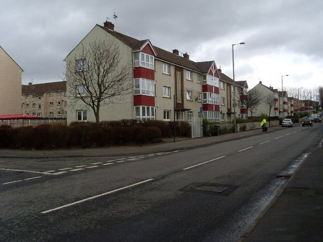 Housing on Kirkshaws Road