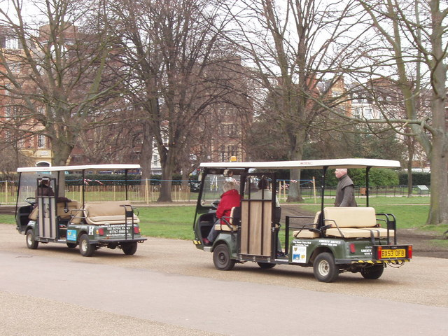 Buggies to help those with limited mobility in Hyde Park