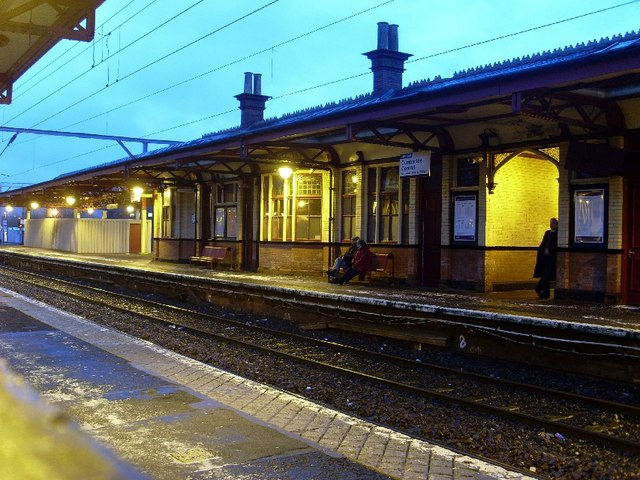 Dumbarton Central station, westbound platform