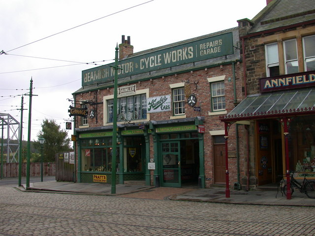 Motor & Cycle Works at Beamish Museum
