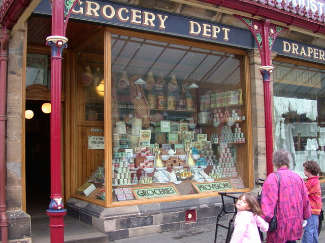 Co-operative Society Store - detail